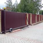 Где купить откатные ворота в Челябинске