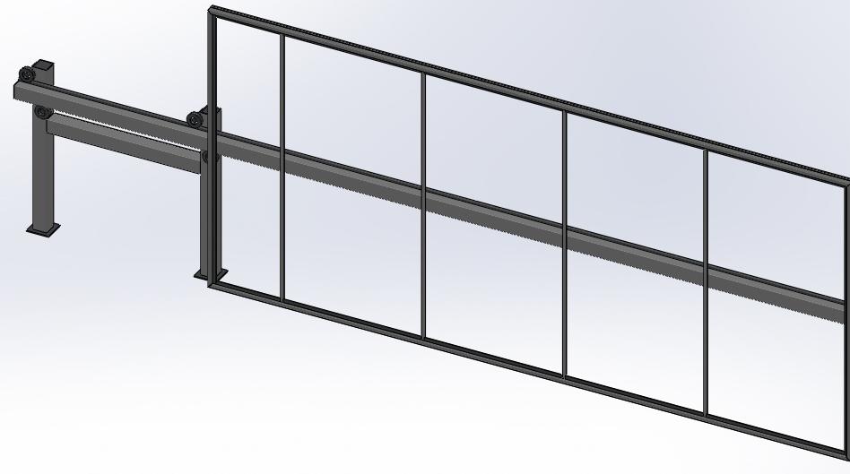 Откатные консольных ворота механол откатные ворота подшипник
