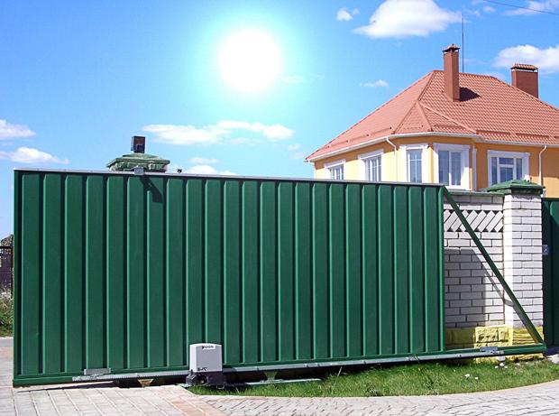 Откатные ворота в Волгограде